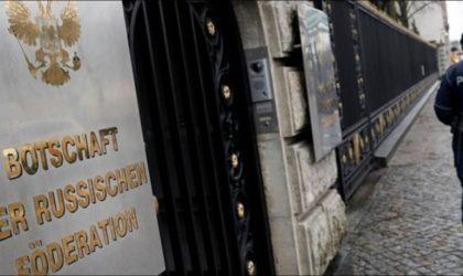 Les diplomates russes expulsés d'Allemagne sont arrivés à Moscou
