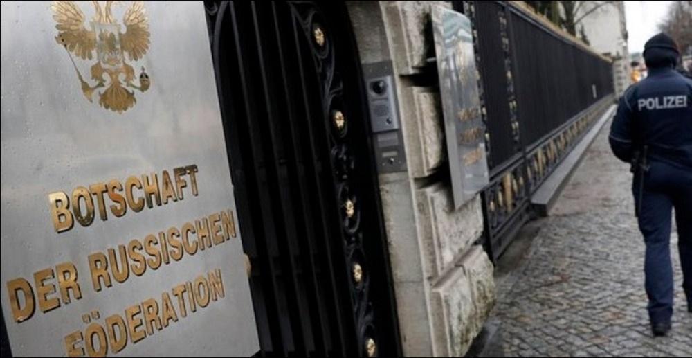 Allemagne diplomates russes expulsés
