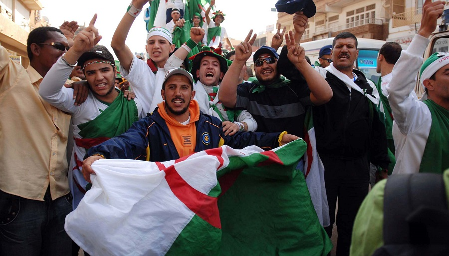 Algérie deuil solidaire patriote