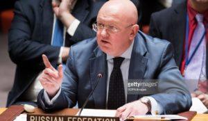 vassily Nebenzia ONU Russie