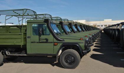 Industrie militaire: livraison de 410 véhicules de marque Mercedes-Benz