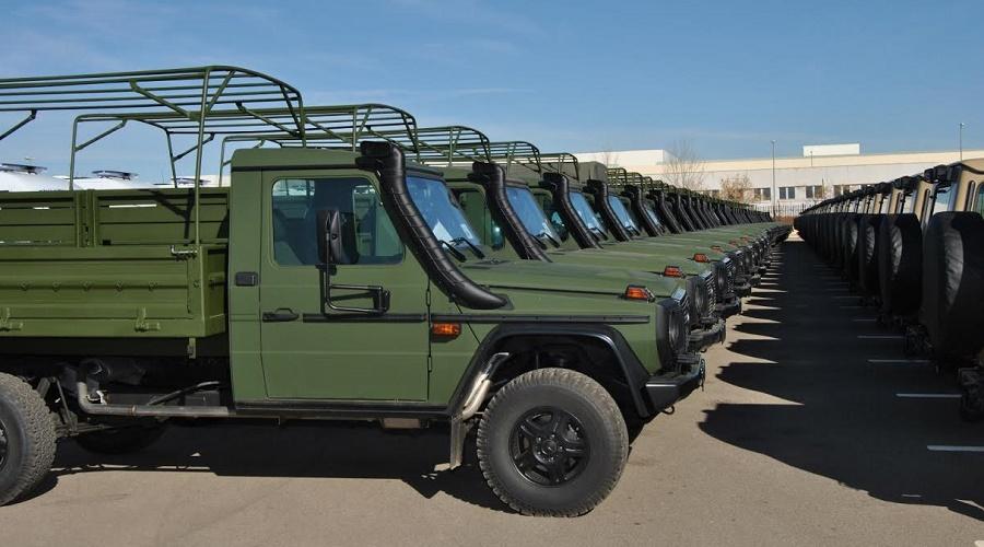 véhicules militaires Rouiba Tiaret
