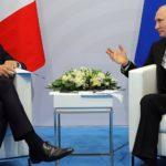 Poutine Macron Russie