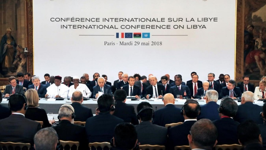 conférence internationale sur la Libye Paris mardi 29 mai 2018
