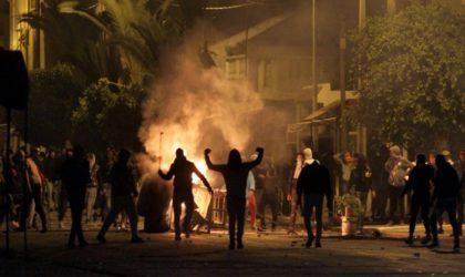 Tunisie: troubles nocturnes à Gafsa après un match de football