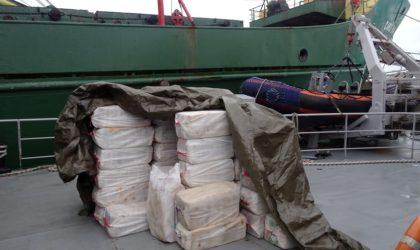 Mise en échec d'une tentative d'introduction de 701 kg de cocaïne au port d'Oran