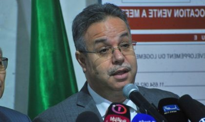 Abdelwahid Temmar: «Lancement prochain du programme de logements AADL de 2018»