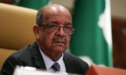 Messahel à la réunion préparatoire du sommet extraordinaire de l'OCI sur la Palestine