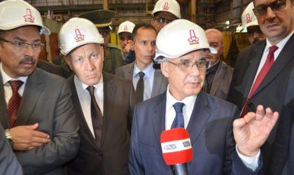 Oran: nouvelle unité de production d'acier à Béthioua