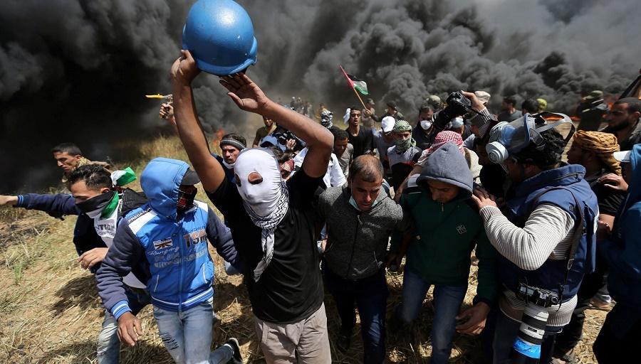 Gaza mort palestiniens Israël