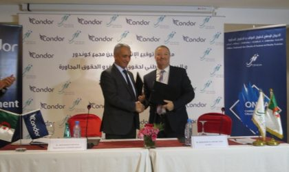 Condor Group et l'ONDA signent une convention à Alger
