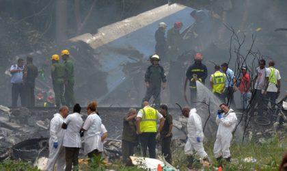 Crash d'un avion à Cuba : plus de 100 morts et 3 blessées dans un état grave
