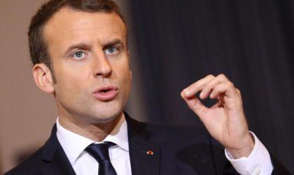 8 mai 1945: Macron appelle à passer des paroles aux actes dans la reconnaissance des crimes