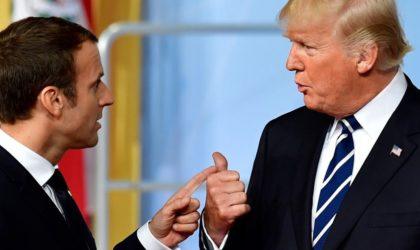 Macron: «La décision de Trump de sortir de l'accord sur le nucléaire iranien est une erreur»