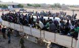 Des migrants s'accrochent avec des soldats polonais en essayant d'entrer en Europe