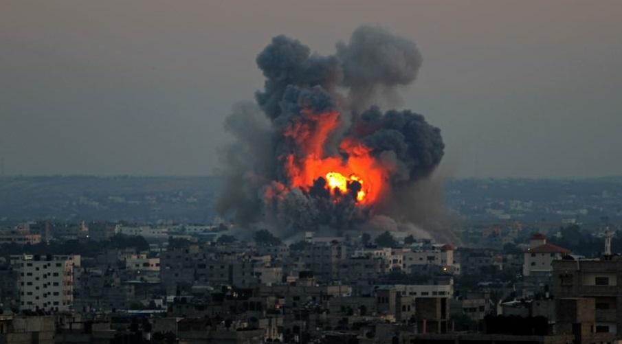 Ghaza bombardement entité sioniste