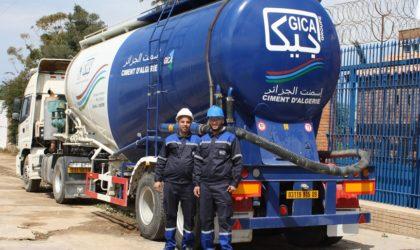 Groupe Gica: premières opérations d'exportation de ciment à destination de l'Europe