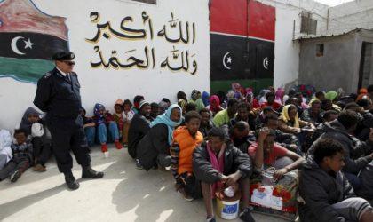 Libye : une centaine de migrants s'échappent d'un camp tenu par des trafiquants dans l'ouest du pays