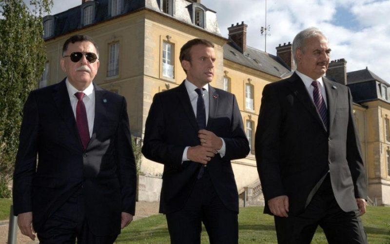Libye Macron
