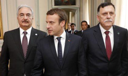 Des responsables libyens alertent : «Macron veut rallumer la guerre civile»