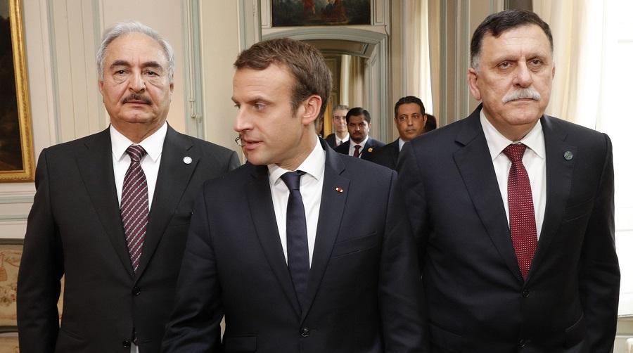 Macron conférence de Paris sur la Libye