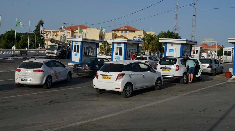 Tunisie taxe transporteurs algériens