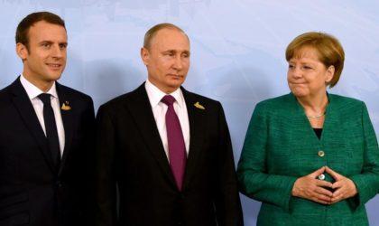 Après Merkel, Macron : les puissances occidentales se tournent vers la Russie