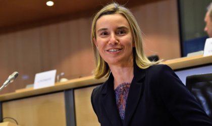 Federica Mogherini: «Le partenariat Algérie-UE progresse et se consolide»