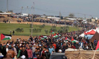 «Marche du retour» : Abbas appelle à éloigner les enfants de la frontière avec Israël