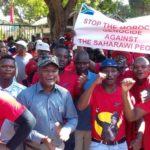 Sud-Afrique rassemblement ambassade du Maroc