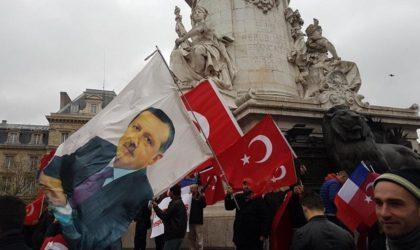 Quand le dictateur d'Ankara Recep Tayyip Erdogan fait la loi en France