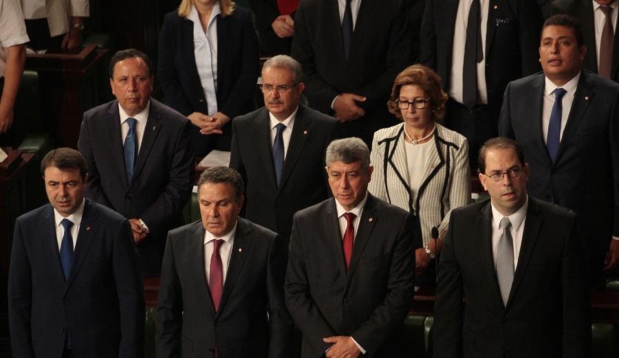 Tunisie gouvernement Chahed débarqué