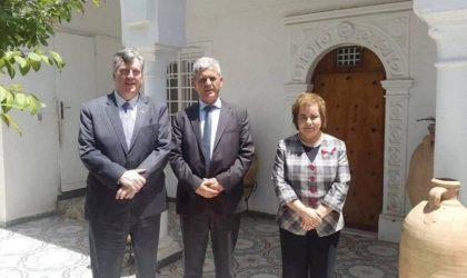 L'ambassadeur des Etats-Unis reçu au siège du RCD
