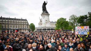 manifestation anti macron France