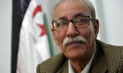 Sahara Occidental: Ghali en visite chez ses alliés namibiens