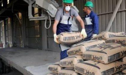 L'Algérie exporte deux cent mille tonnes de ciment vers l'Europe