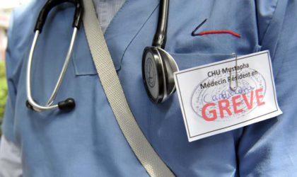 Les médecins résidents décident la non-reprise de l'activité de garde