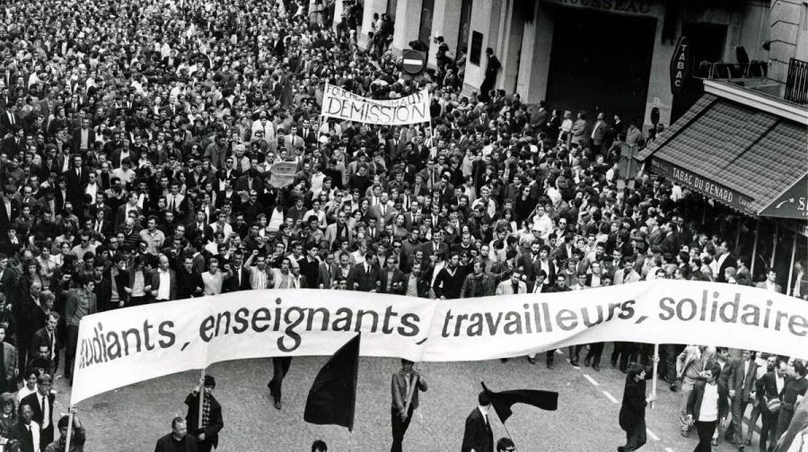 mouvement Mai-68