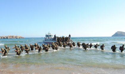 L'ANP participe à un exercice militaire aux côtés de l'armée marocaine ?