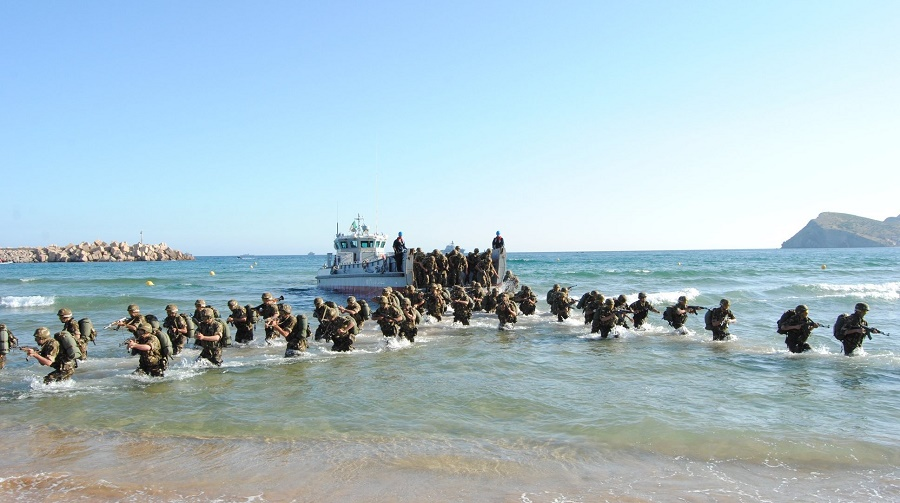manoeuvres militaires Algérie Maroc