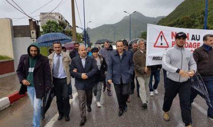 Marche contre «la mafia du foncier» à Béjaïa