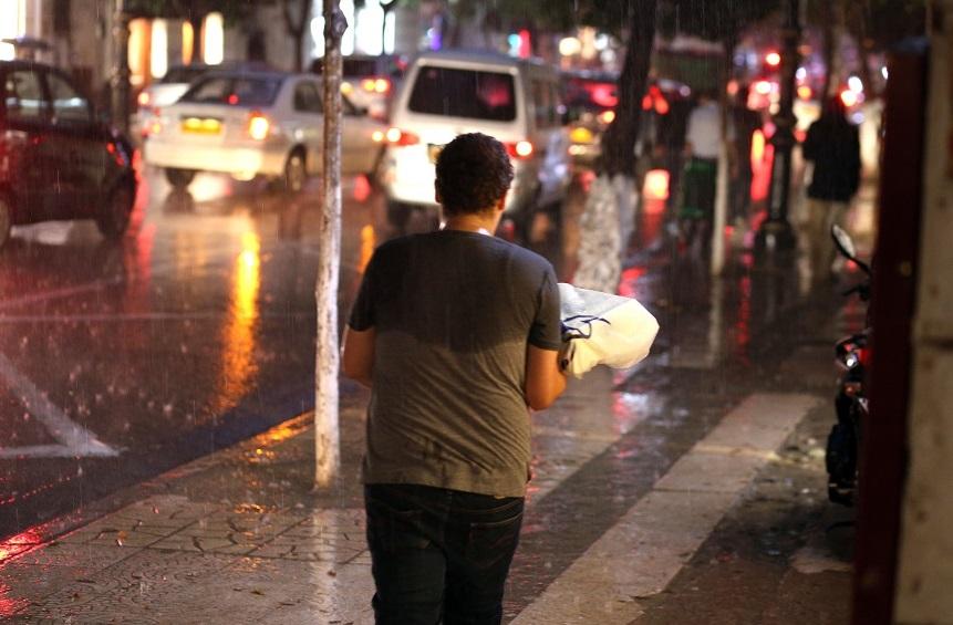 pluie météorologique