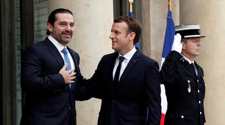 Macron Hariri séquestré MBS