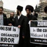 sionisme etat terreur