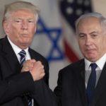 Benjamin Netanyahu, Donald Trump Palestine