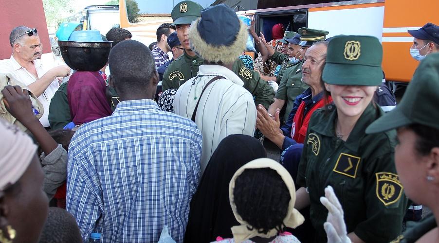 migrants Algérie AP