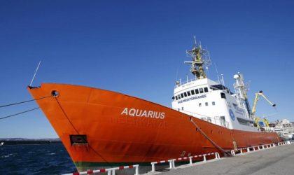 L'ONG SOS Méditerranée dénonce «la faillite des Etats européens»