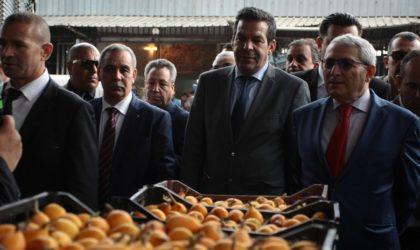 Installation d'un groupe de travail pour la relance des exportations agricoles