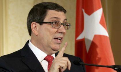 Venezuela: Cuba qualifie d'«ingérence inacceptable» la résolution adoptée par l'OEA