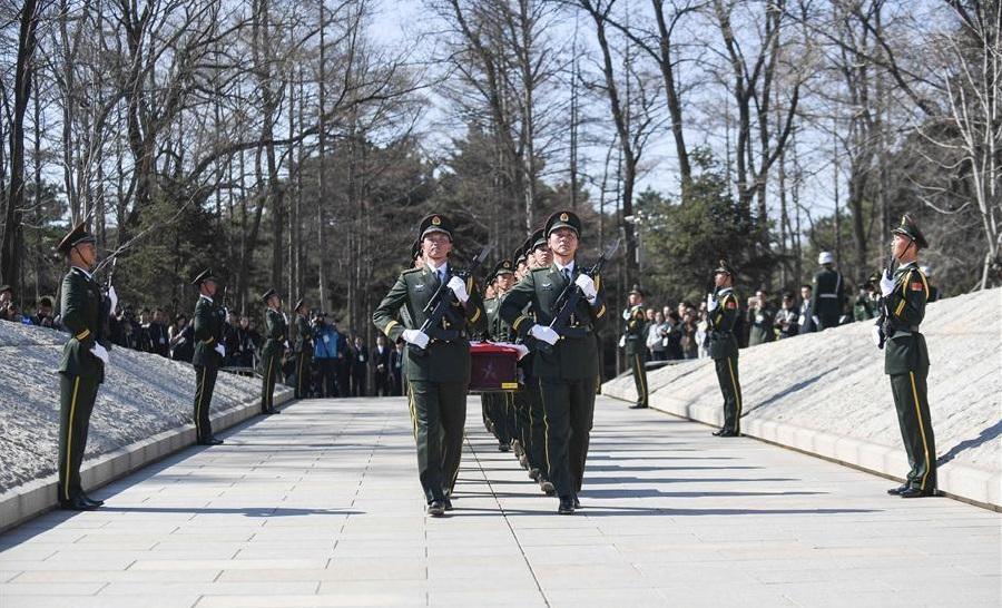 Soldats, Cérémonie Corée